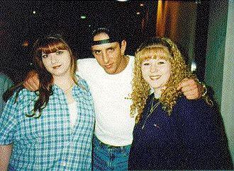 Billy Kidman - Billy Kidman with two fans