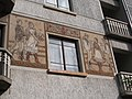 Listed building ID -8313. Sgraffito (S). - 59, Kiss János street, Budapest District XII.JPG