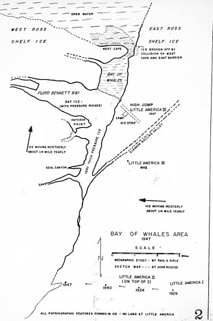 Little America Wyoming Map.Little America Exploration Base Wikipedia
