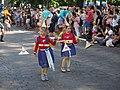 Little samba girls from Samba El Gambo at Helsinki Samba Carnaval 2019.jpg