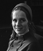 A smiling Liv Ullmann in 1966