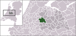 Location of Woerden