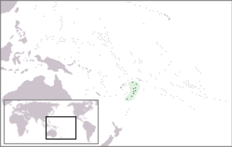Tongatapu - Image: Location Tonga