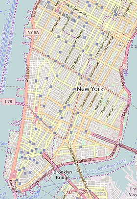 (Voir situation sur carte : Lower Manhattan)