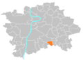Location map municipal district Prague - Újezd u Průhonic.png