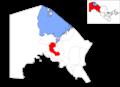Location of Kegeyli District in Qoraqalpog'iston.png