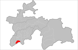 Location of Qumsangir District in Tajikistan.png