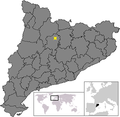 Location of Sant Llorenç de Morunys.png