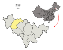 Location of Songyuan Prefecture within Jilin (China).png