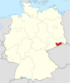 Locator map PIR in Germany.svg
