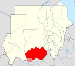 Locator map Sudan South Kurdufan (CPA).png