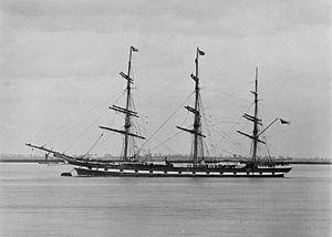 Loch Ard (ship) - Image: Loch Ard (ship, 1873) SLV H91.108 1068