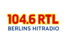 Logo von 104.6 RTL