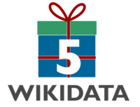 Logo 5th Wikidata Birthday.png