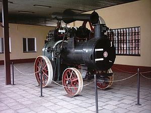 H. Cegielski – Poznań - Portable engine once produced in Cegielski factories.