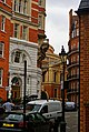 London - Kensington Gore - View NW towards Royal Albert Hall.jpg
