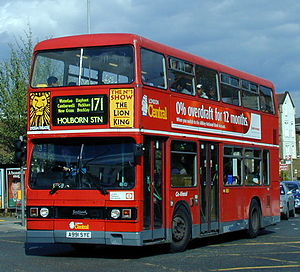 Go-Ahead Group - London Central Leyland Titan in Forest Hill in May 2001
