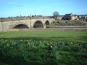 Walton-le-Dale - The bridge at Walton-le-Dale