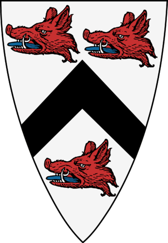 Lord Elphinstone - Arms of the Lord Elphinstone (not including the various quarterings acquired by the family)