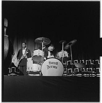 Barrett Deems - Image: Louis Armstrong til Oslo og konserter L0062 965Fo 30141701300079