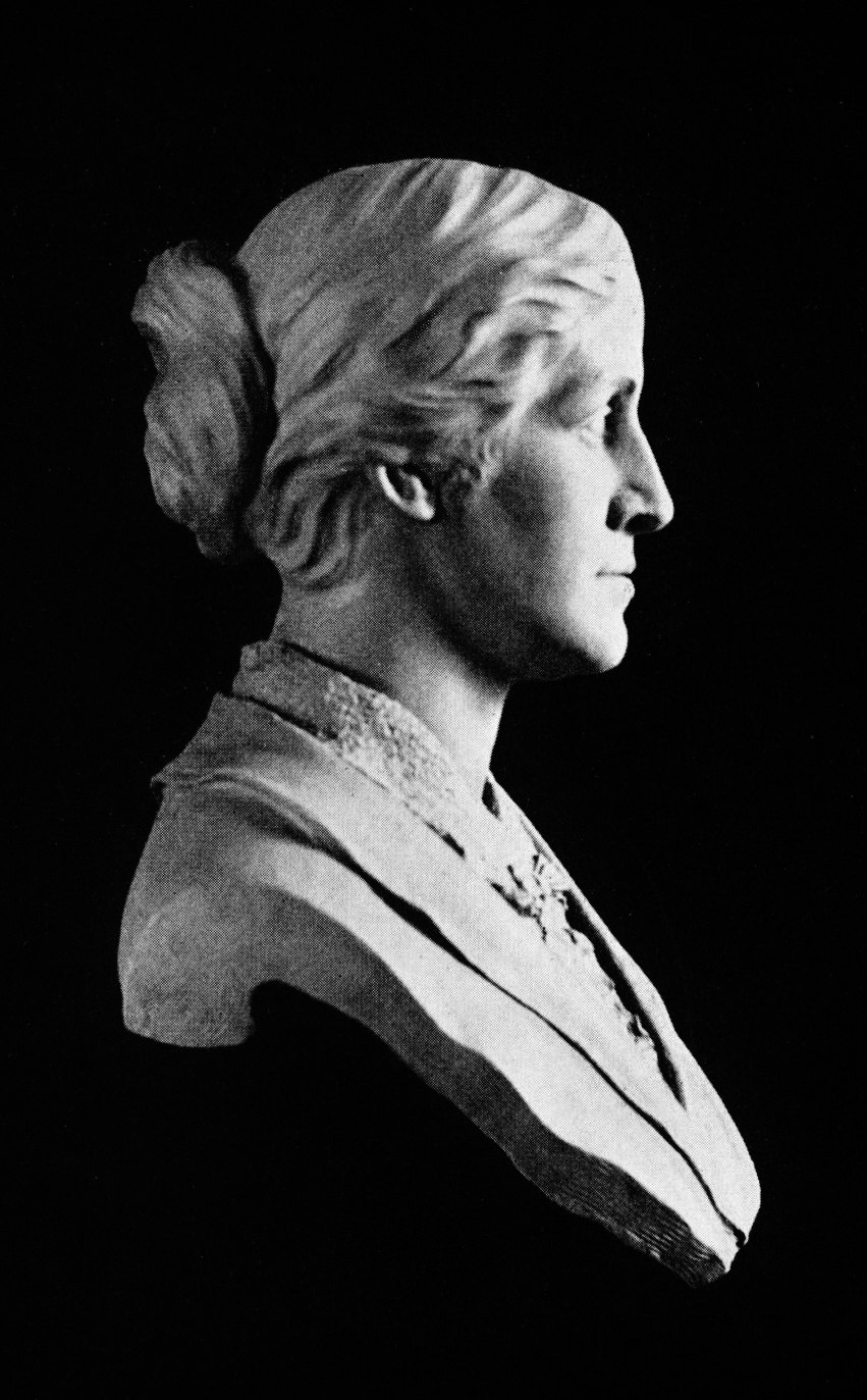 Louisa May Alcott Bust
