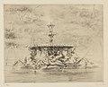 Louise Danse - La fontaine des jardins Borghèse - Graphic work - Royal Library of Belgium - S.III 8188.jpg