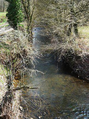 Lourde (river) - Image: Lourde Cherveix Cubas amont