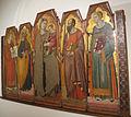Luca di tommè, madonna in trono col bambino e santi, 02.JPG