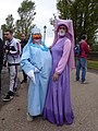 Lucca Comics & Games 2019 - Cosplay Lady Cocca e Lady Marian.jpg
