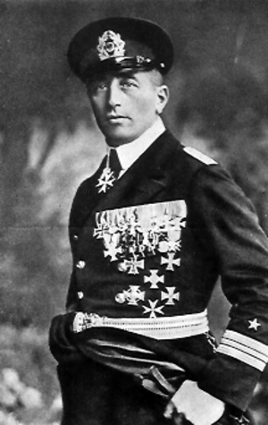 Felix von Luckner - The young Felix von Luckner, a German war hero noted for his long voyage on the Seeadler during which he captured 14 enemy ships