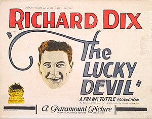 The Lucky Devil - Lobby card