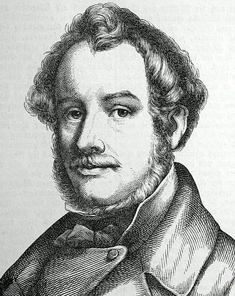 Ludwig Michael Schwanthaler - Ludwig Schwanthaler, from Two Hundred German Men in Portraits and Biographies (1854)
