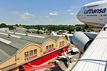 Liller Halle from the Boeing 747