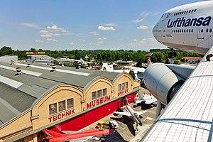 Technik Museum Speyer - Liller Halle from the Boeing 747