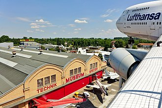 Technik Museum Speyer - Liller Halle from the Boeing 747