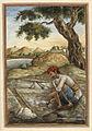 Luniya, a caste of salt-diggers - Tashrih al-aqvam (1825), f.354v - BL Add. 27255.jpg