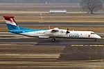 Luxair, LX-LGM, Bombardier Dash 8-Q402 (19731347034) (2).jpg
