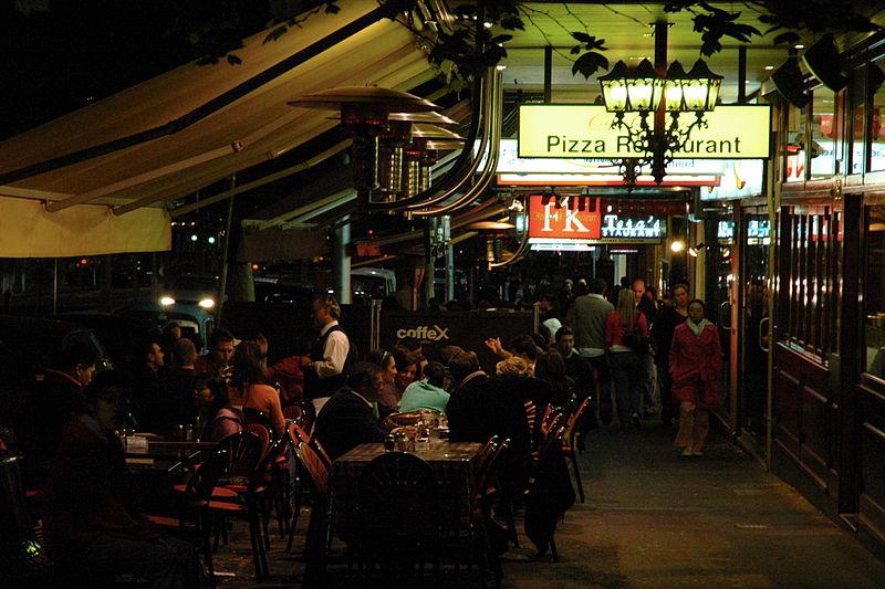 Food Lygon Street Melbourne