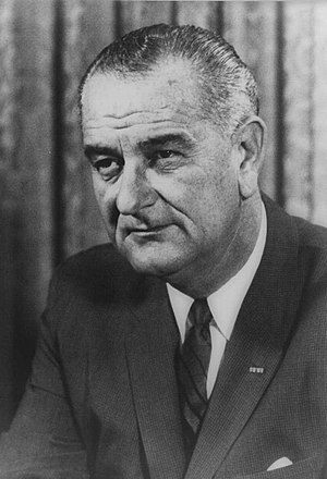 United States presidential election in Virginia, 1964 - Image: Lyndon B. Johnson Official White House Portrait