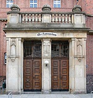 Matthias Martinius - Entrance to the old Gymnasium, Bremen.