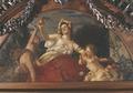 Målning. Julius Kronberg. Abundantia. 1897 - Hallwylska museet - 4361.tif