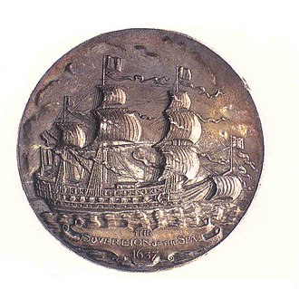 HMS Sovereign of the Seas - Medal on Sovereign of the Seas