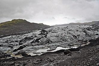 Geography of Iceland - Mýrdalsjökull glacier