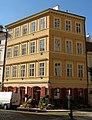 Městský dům U Zahrádků (Staré Město), Praha 1, U Obecního dvora, Halštatská 3, Staré Město.JPG