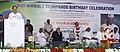 M. Venkaiah Naidu addressing the gathering after rededicating Thakkar Bapa Vidyalaya, unveiling the renovated Statue of Thakkar Bapa and unveil the plaque for pile foundation of Didi Nirmala Deshpande Nilayam, in Chennai (1).jpg