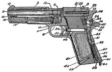 M1911 wikipdia a enciclopdia livre diagrama do manual do soldado 1940 41 mostrando os vrios componentes da pistola fandeluxe Image collections