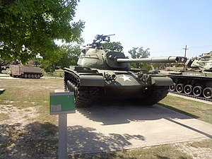 M48 Patton at 1st Cavalry Division Museum 1.jpg