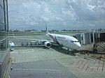 MALAYSIA AIRLINES 9M-MLM at Kuching International Airport.jpg