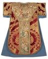 MCC-21689 Rode dalmatiek met annunciatie, visitatie en aanbidding der herders, Cyriacus, Petrus e.a. (16).tif