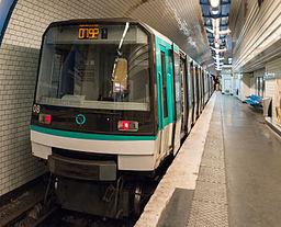 MF 88 at Pré Saint-Gervais Station, Paris 19e 20140427